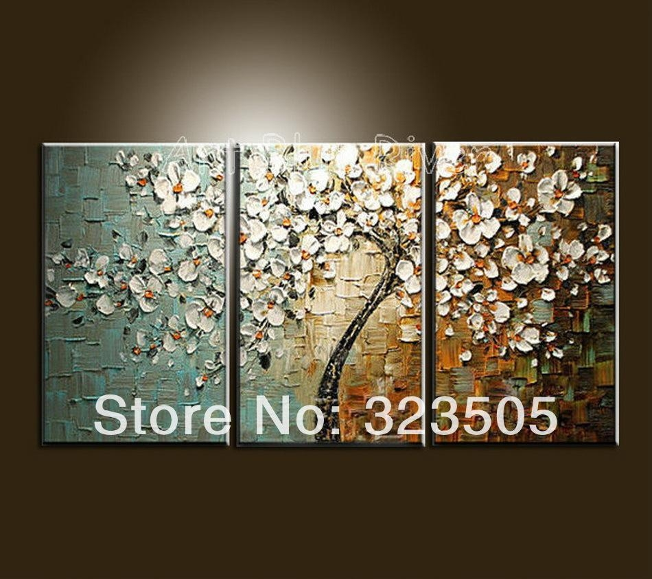 Wholesale Canvas Wall Art Modern Abstract Wall Panel Textured Regarding 3 Piece Abstract Wall Art (View 14 of 20)