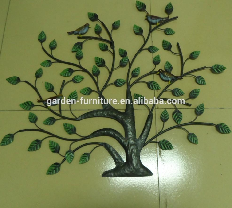 Whosale Online Wrought Iron Home Decor Metal Hanging Crafts Inside Wrought Iron Tree Wall Art (Image 17 of 20)