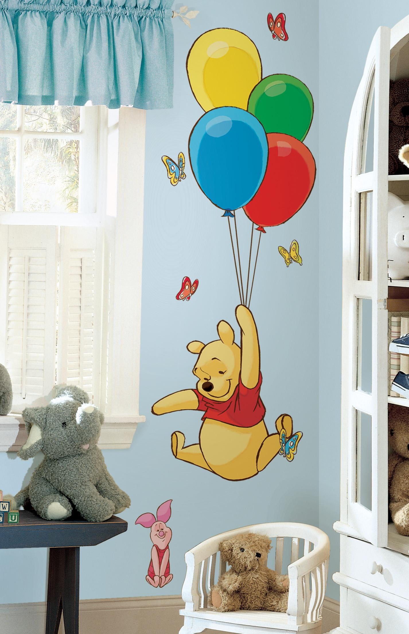 Winnie The Pooh Decor | Colorful Kids Rooms Regarding Winnie The Pooh Wall Art For Nursery (Image 16 of 20)