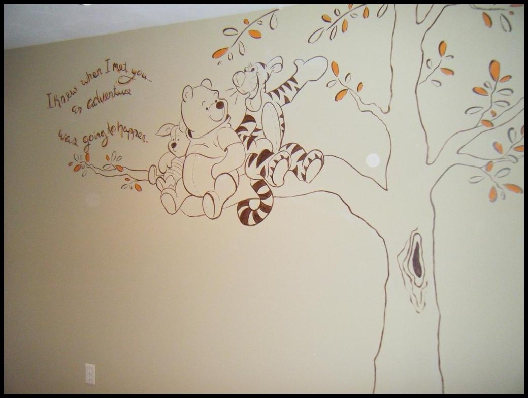 Winnie The Pooh Wall Decals | Home Decorations Ideas With Winnie The Pooh Wall Art (View 2 of 20)