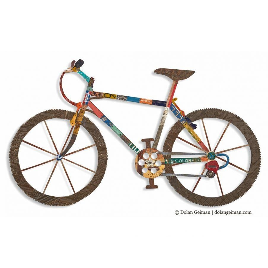 20 inspirations bicycle metal wall art wall art ideas for Bicycle wheel wall art