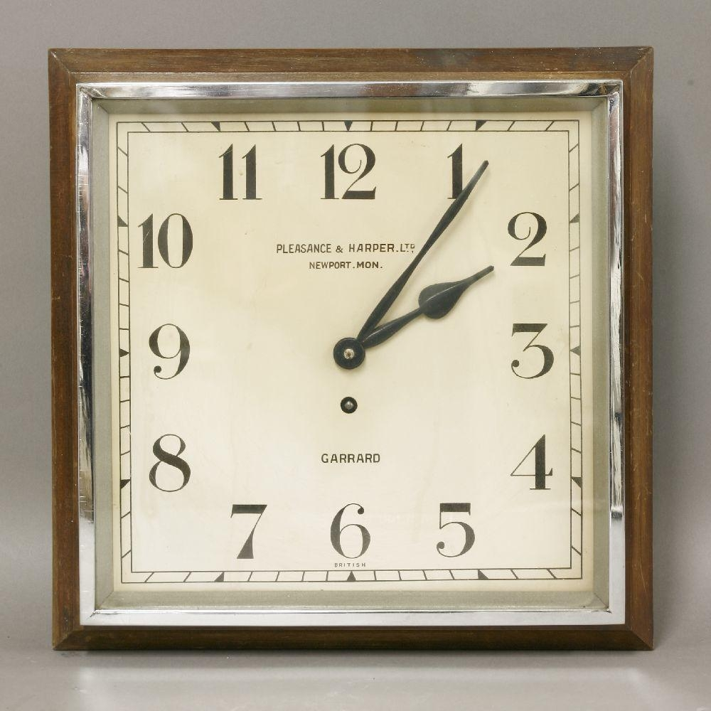 Winsome Wall Clock Art Deco 129 Art Deco Wall Clock Antique Art Regarding Large Art Deco Wall Clocks (Image 19 of 20)