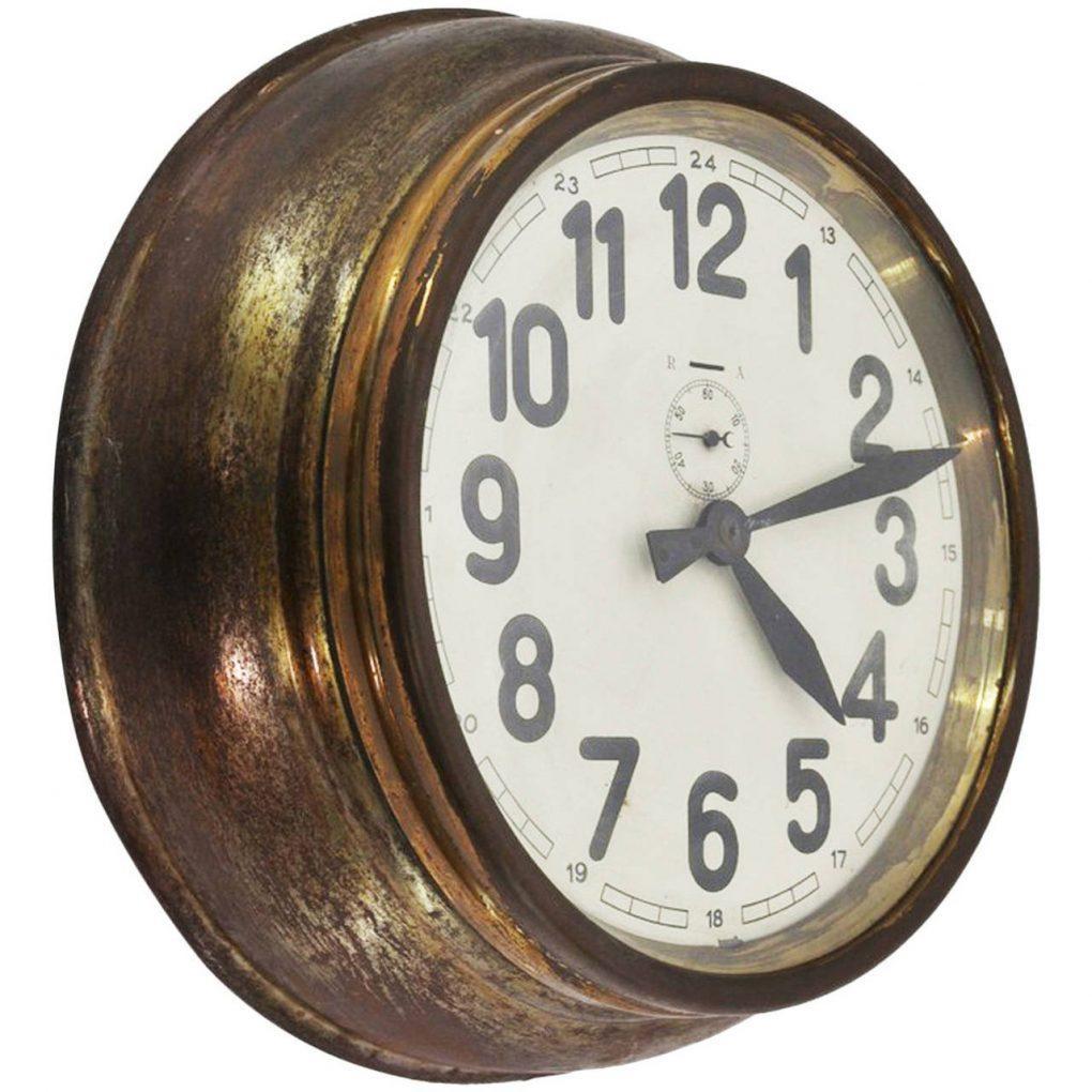 Winsome Wall Clock Art Deco 129 Art Deco Wall Clock Antique Art Throughout Large Art Deco Wall Clocks (Image 20 of 20)