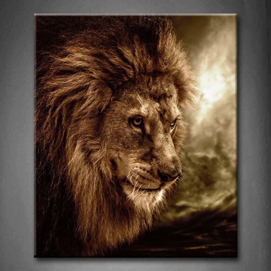 Wondrous Lion Wall Art Decor Lion Head Kids Wall Wall Decor Wall With Regard To Lion Wall Art (Image 20 of 20)