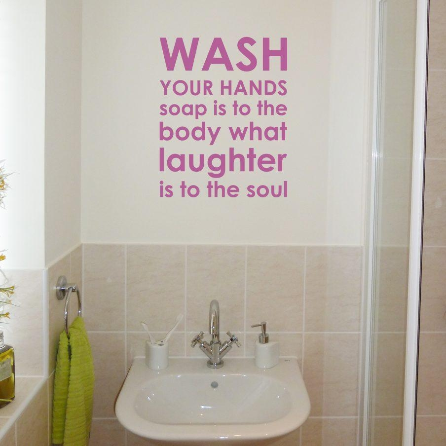 Wondrous Modern Bathroom Wall Hangings Bathroom Wall Hangings With Bathroom Wall Hangings (Image 20 of 20)