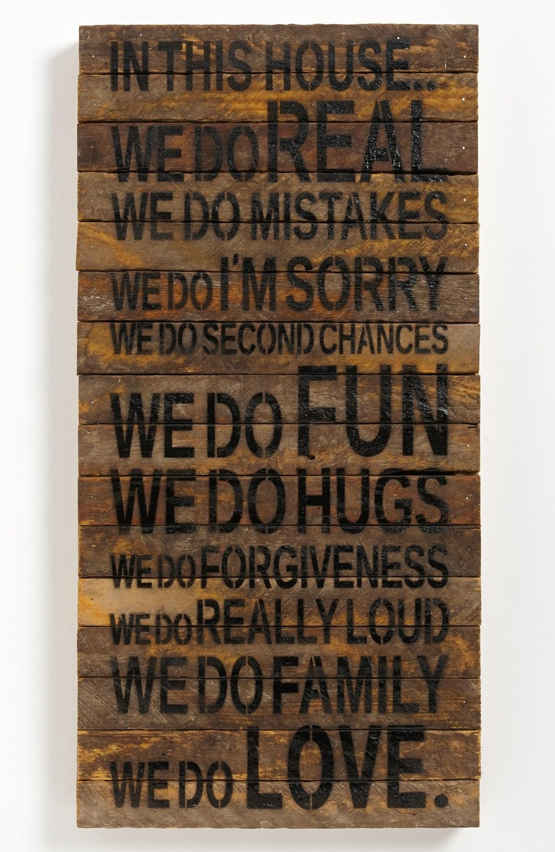 Wooden Decorative Wall Words – Video And Photos | Madlonsbigbear Within Wooden Words Wall Art (View 4 of 20)