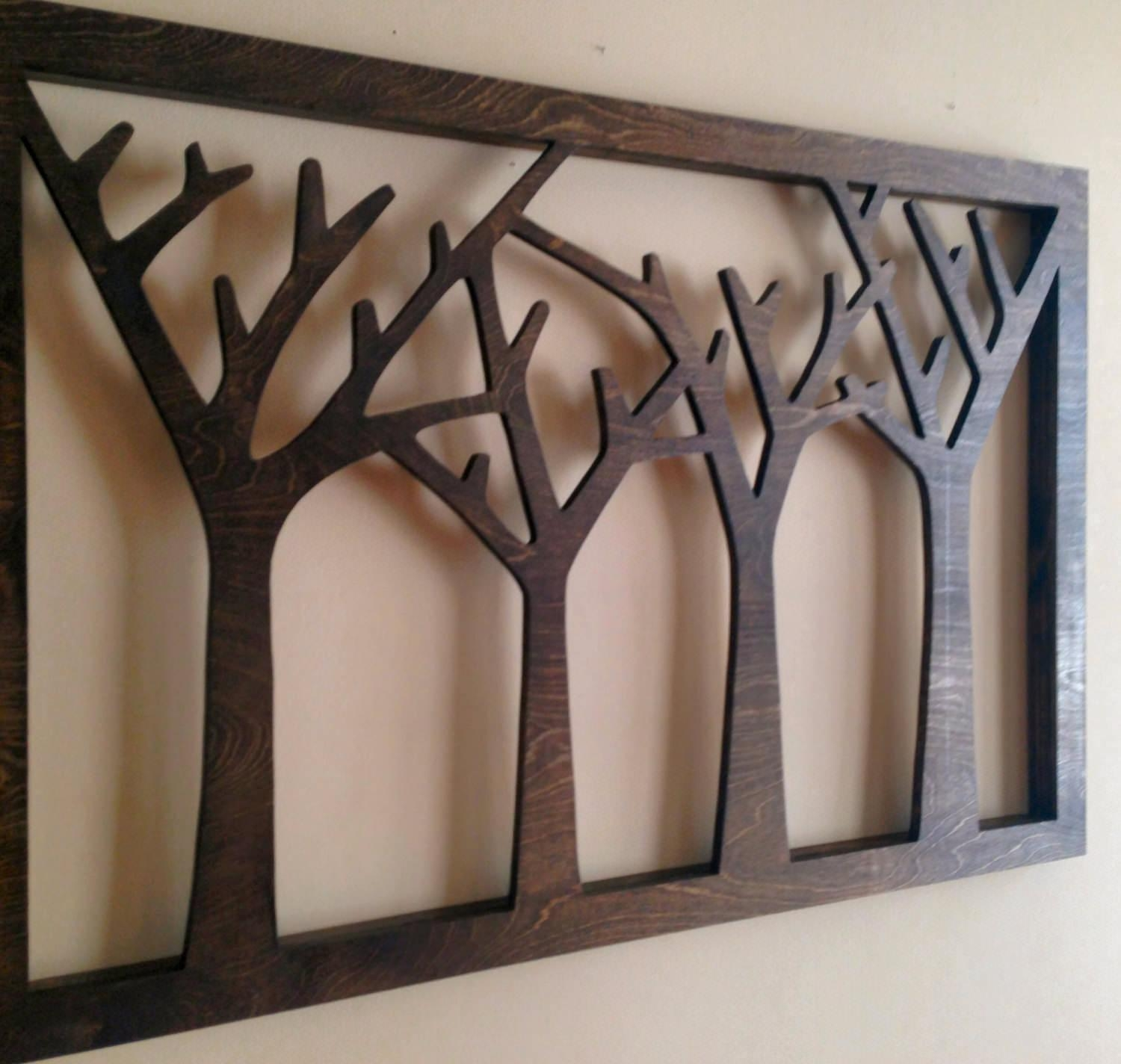 Wooden Wall Decoration | Jumply (View 2 of 20)