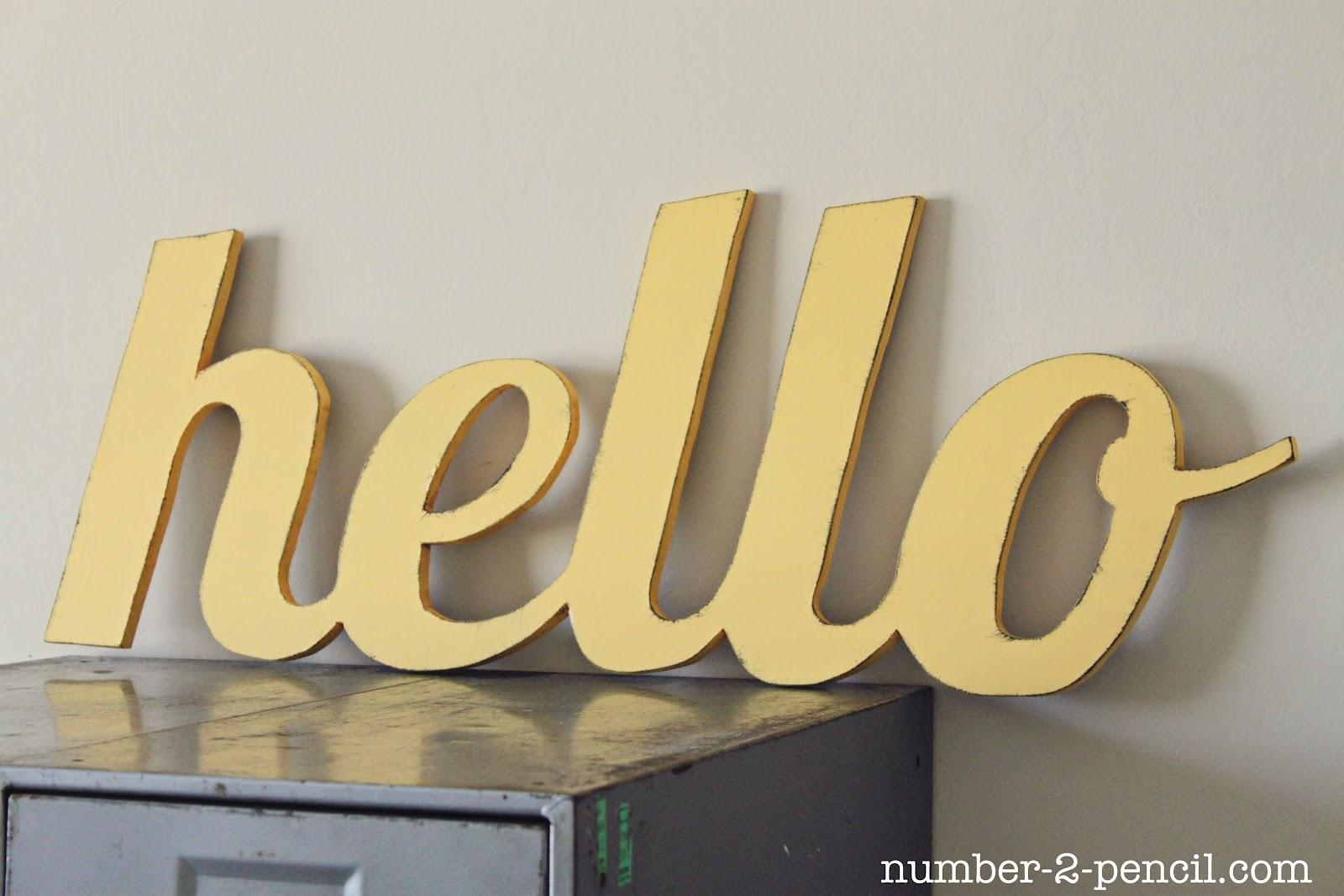 Wooden Word Art For Kitchen | Interior Design For Shoes Shop Within Wooden Word Wall Art (Image 17 of 20)