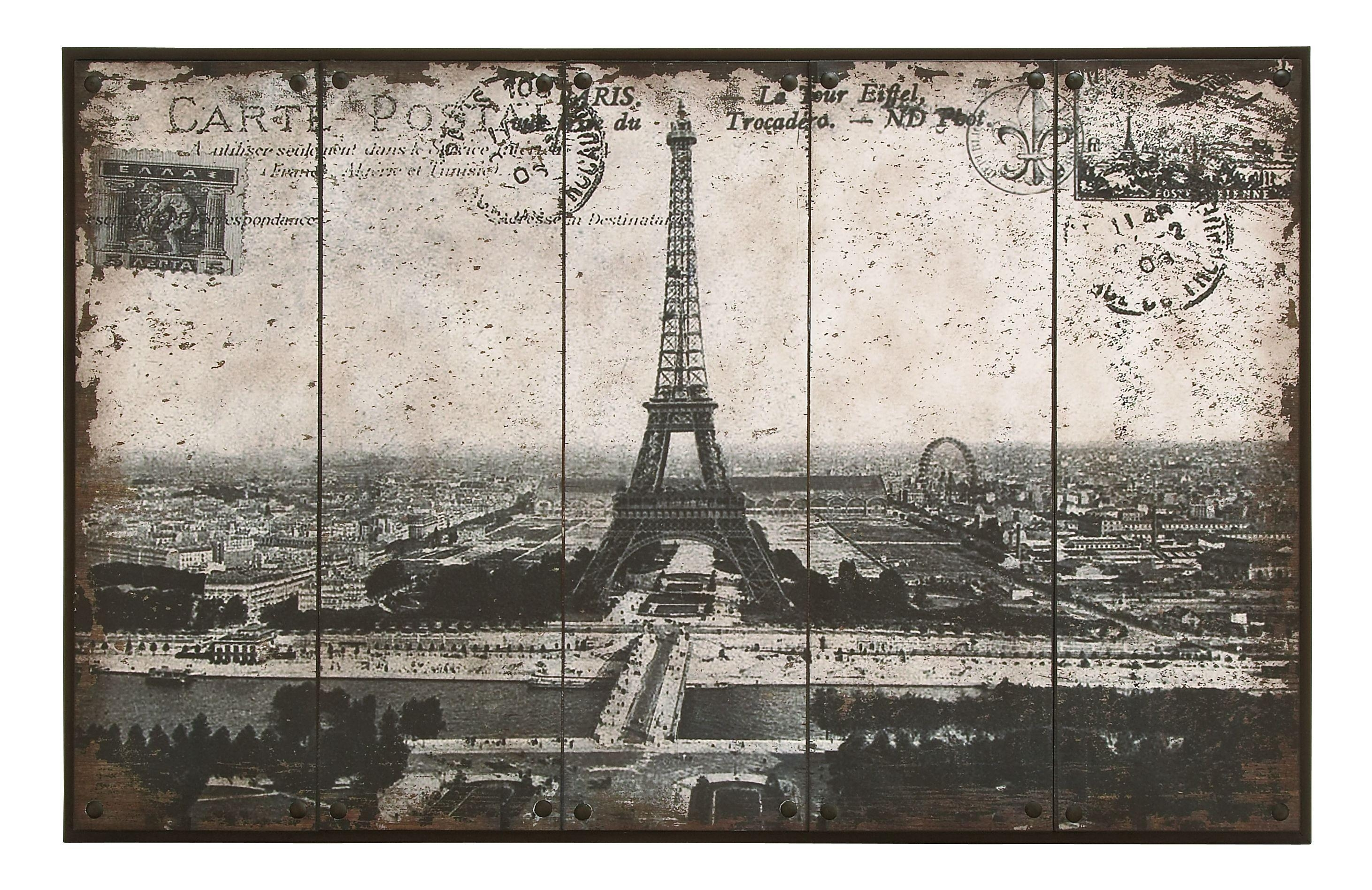 Woodland Intended For Eiffel Tower Metal Wall Art (View 17 of 20)