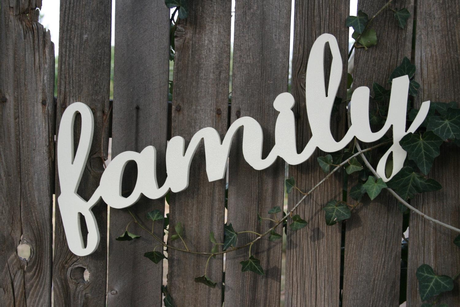 Word Wall Art Wood | Wallartideas With Wooden Word Wall Art (View 8 of 20)