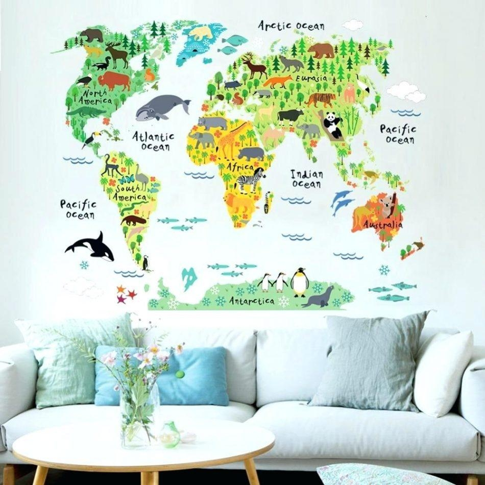 World Map Wall Art – Bookpeddler Regarding Groupon Wall Art (Image 19 of 20)