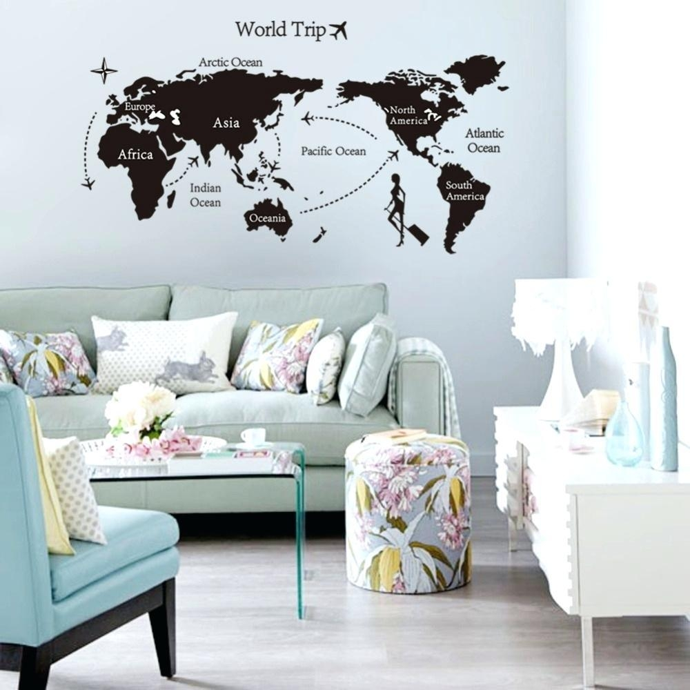 World Map Wall Art – Bookpeddler Regarding Groupon Wall Art (Image 18 of 20)