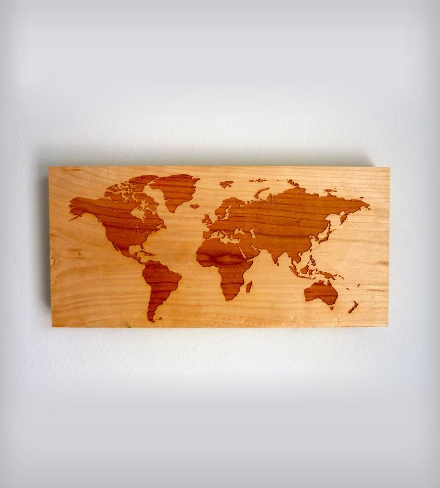 Featured Image of Map Wall Art