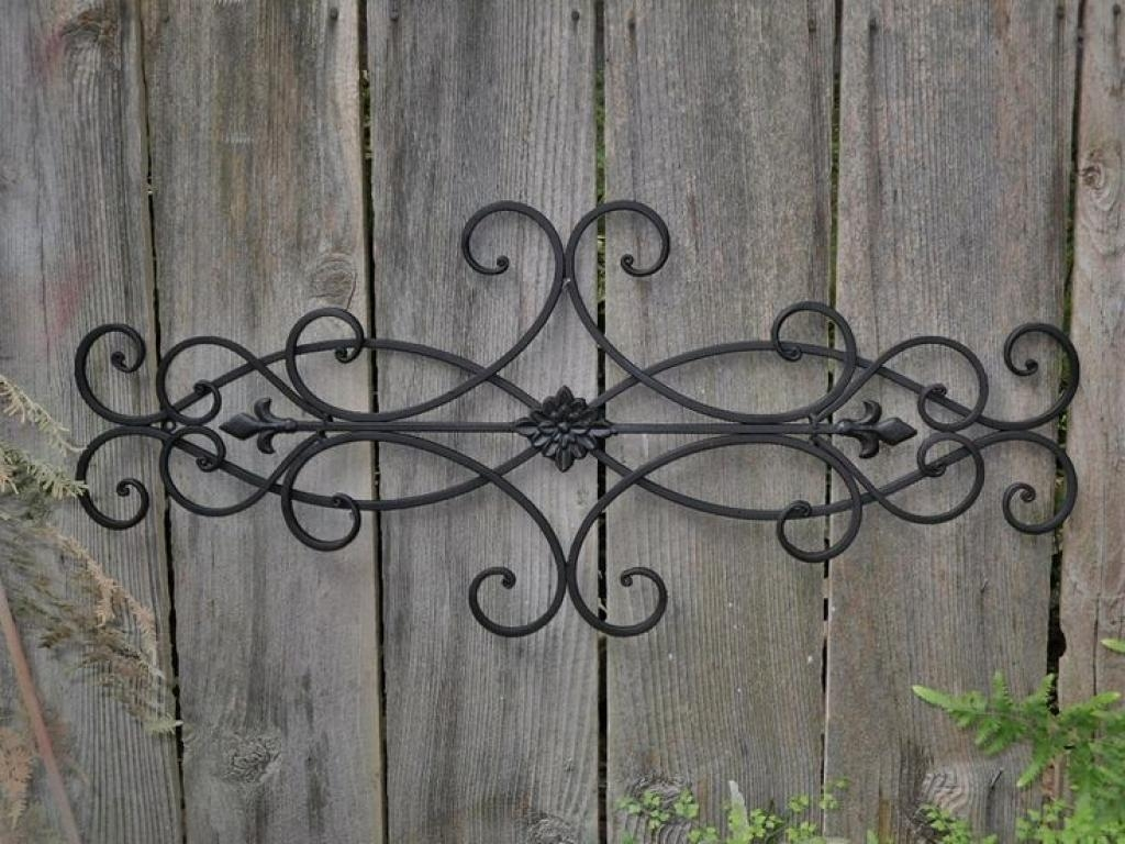 Wrought Iron Decor, Iron Decor And Outdoor Wall Art On Pinterest With Regard To Faux Wrought Iron Wall Decors (Image 18 of 20)