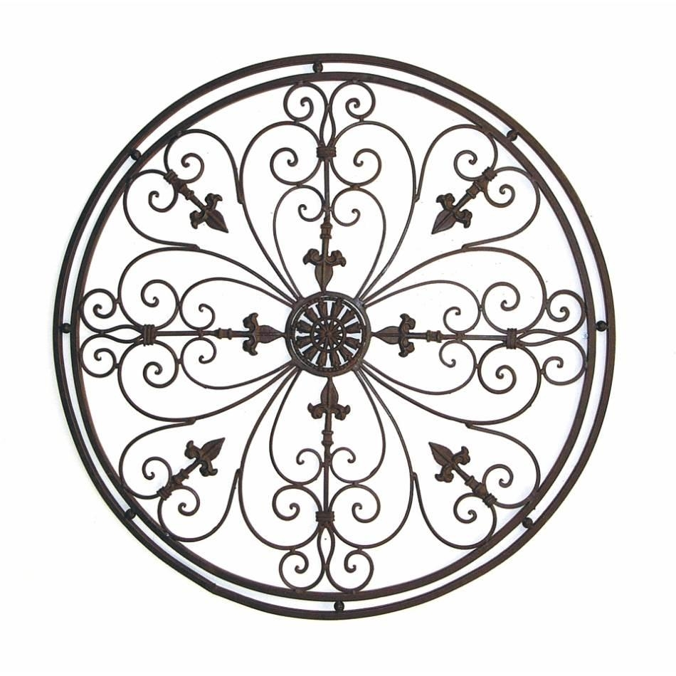 Wrought Iron Garden Wall Art – Gardening Ideas With Wrought Iron Garden Wall Art (Image 15 of 20)