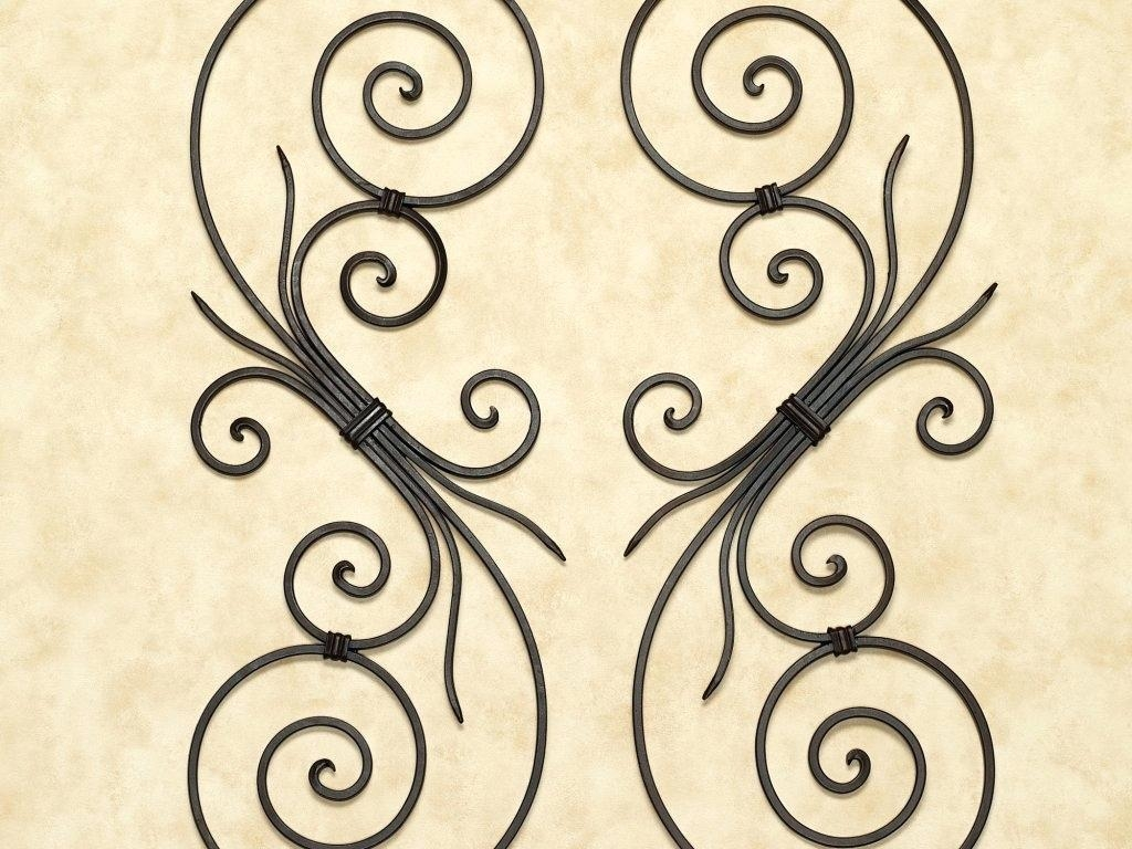 Wrought Iron Wall Art – Bookpeddler Within Wrought Iron Tree Wall Art (Image 19 of 20)
