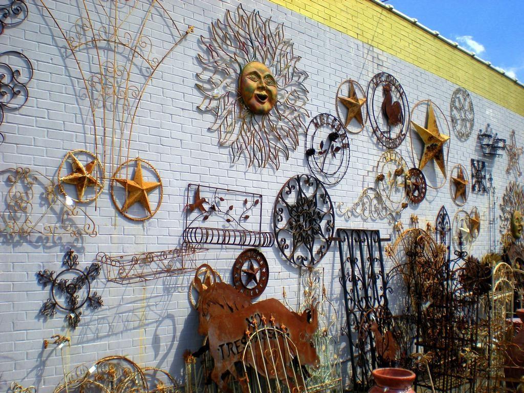 Wrought Iron Wall Art Garden : Attractive Wrought Iron Wall Art With Regard To Wrought Iron Garden Wall Art (View 17 of 20)