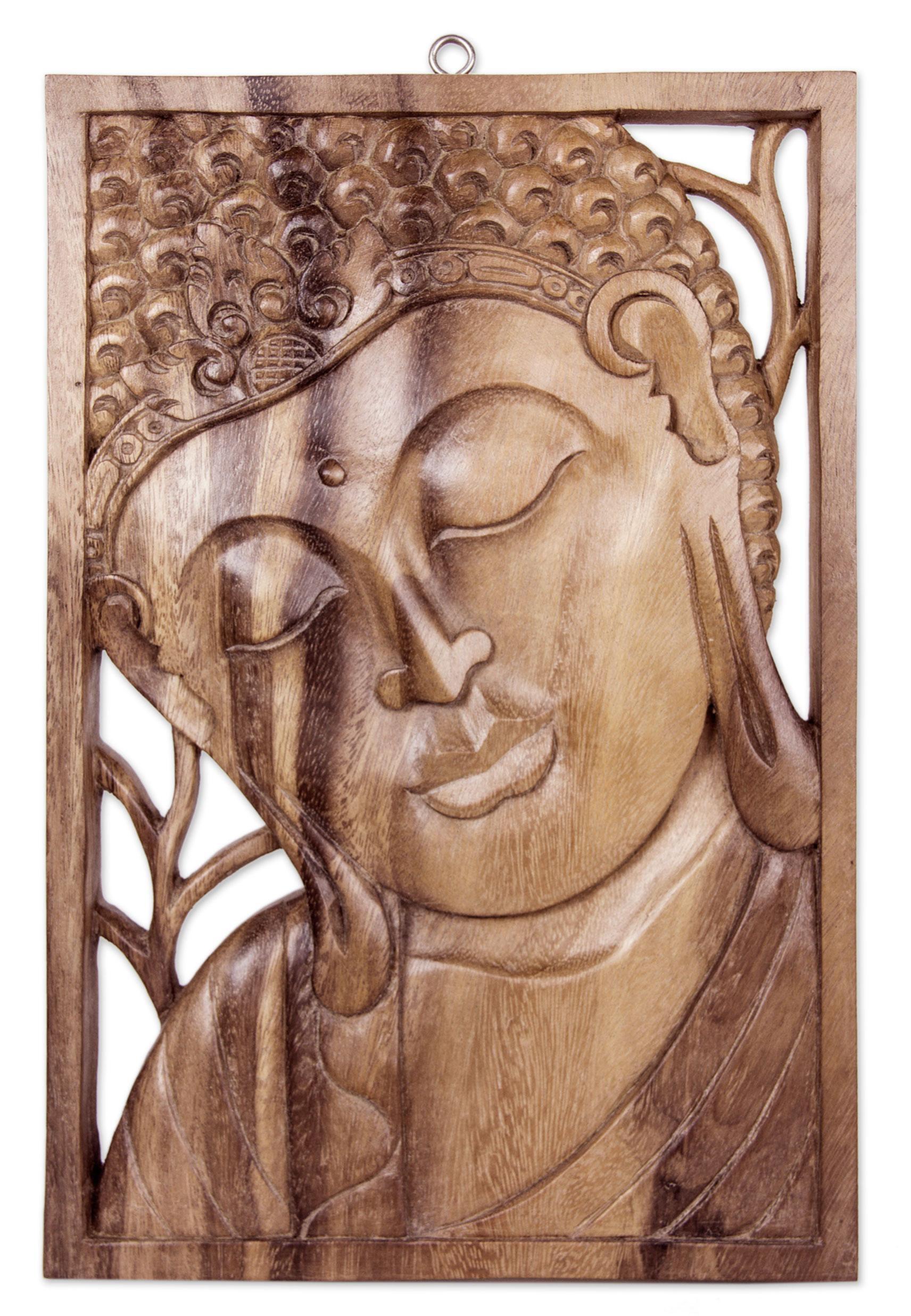 Zen Home Decor Ideas - Buddha Decor And Art | Novica intended for Buddha Wooden Wall Art