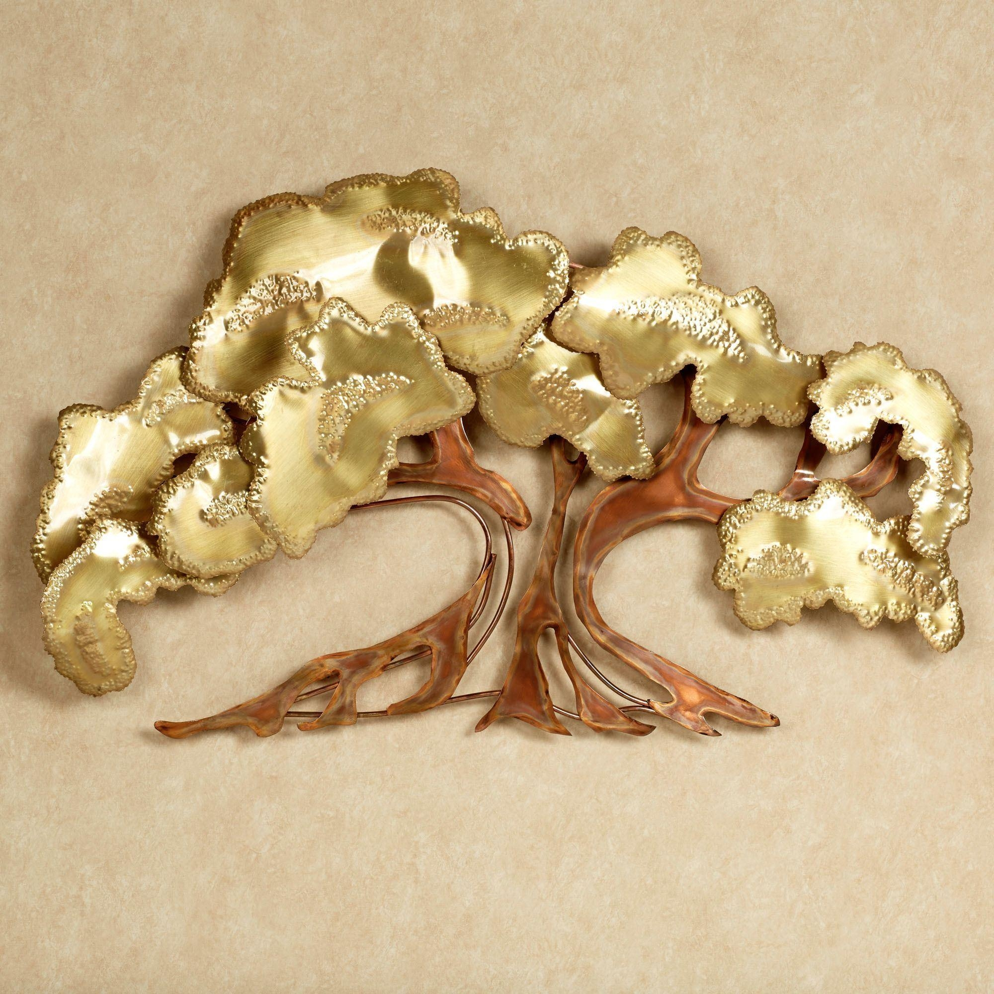Zen Tree Metal Wall Sculpture intended for Metal Tree Wall Art Sculpture