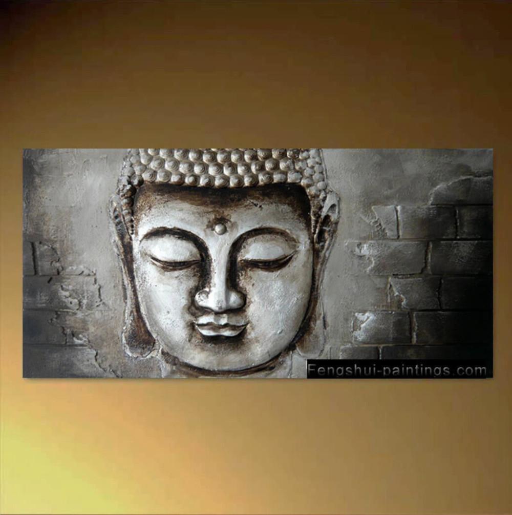 Zen Wall Art | Roselawnlutheran for Silver Buddha Wall Art