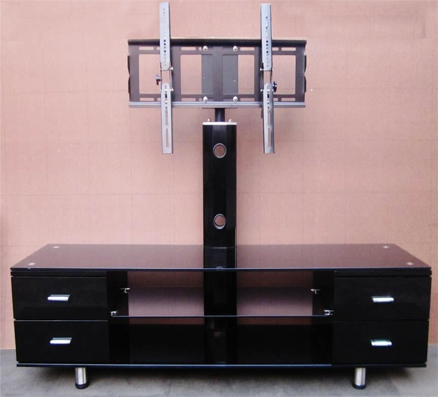 1.6 Metre Glass Tv Unit With Tv Mount Sydney Warehouse Sales pertaining to Most Recently Released Black Glass Tv Cabinet