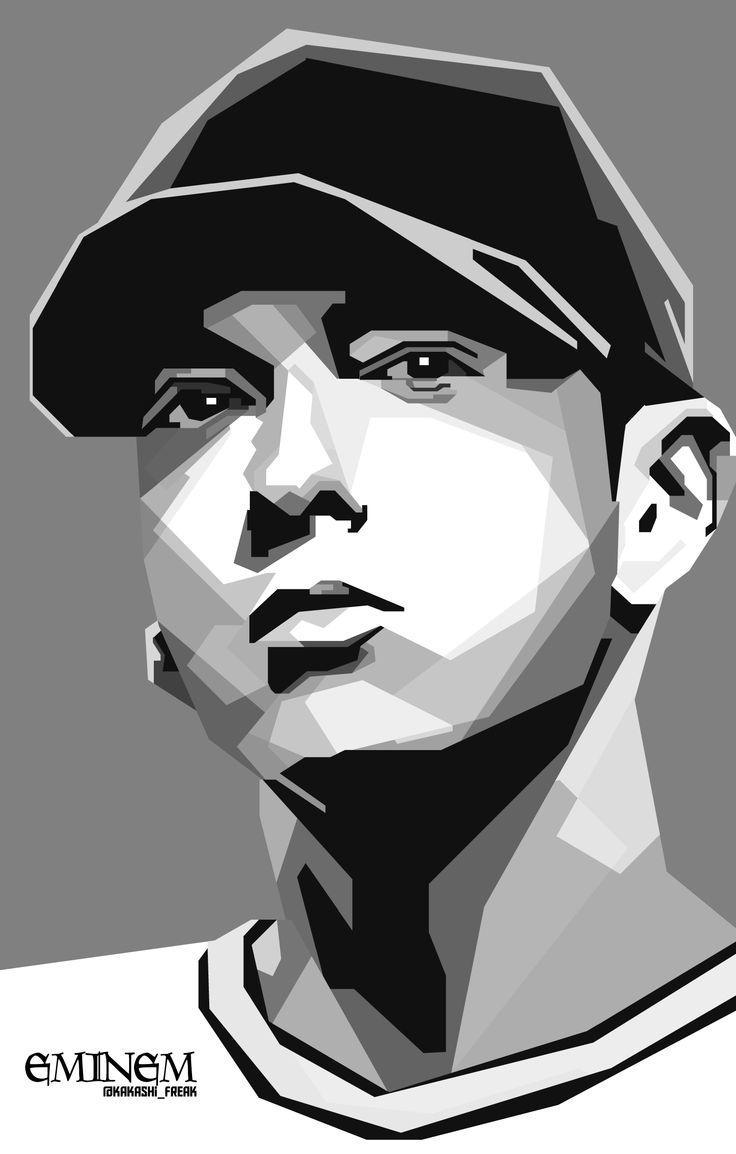 10 Best Skintone Images On Pinterest | Pop Art, Art Faces And Art Inside Eminem Wall Art (View 18 of 20)