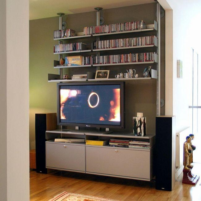 10 Best Tv Stand Alternatives Images On Pinterest | Tv Stands With Best And Newest Tv Stands For Large Tvs (View 20 of 20)