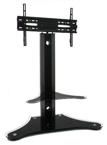 10 Best Tv Stand Images On Pinterest | Tv Stands, Tv Accessories Pertaining To Newest Swivel Black Glass Tv Stands (View 19 of 20)