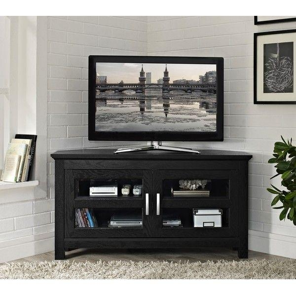 10 Best Tv Stands Images On Pinterest | Corner Tv Cabinets, Corner Throughout Newest Modern Corner Tv Units (Image 1 of 20)
