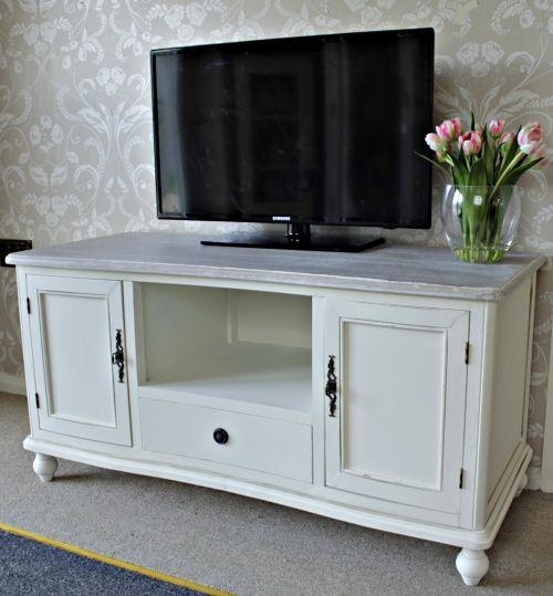 Featured Photo of Cream Tv Cabinets