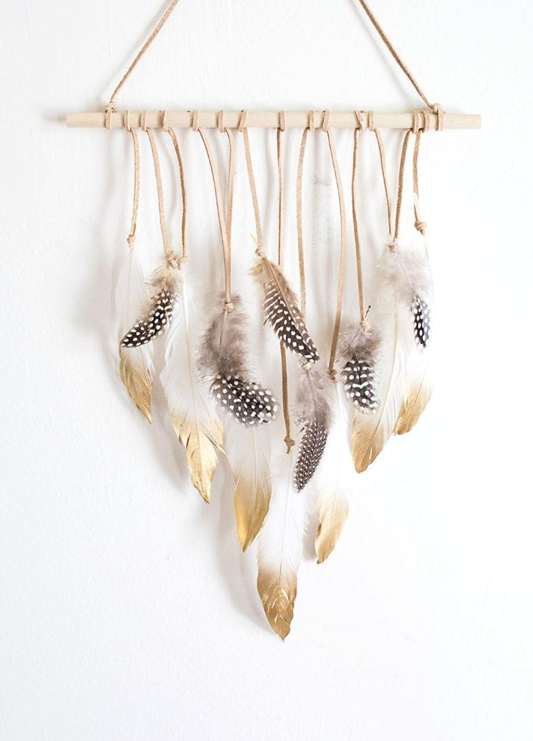 10 Easy And Cool Diy Boho Chic Wall Art Ideas – Shelterness Inside Boho Chic Wall Art (Image 1 of 20)