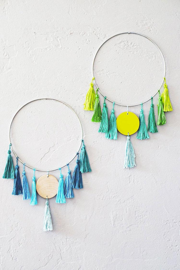 10 Easy And Cool Diy Boho Chic Wall Art Ideas – Shelterness Intended For Boho Chic Wall Art (Image 2 of 20)