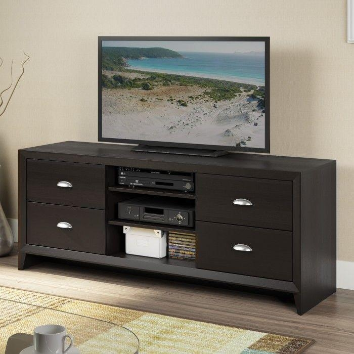 100 Best Tv Stands Images On Pinterest | Tv Stands, Entertainment With Regard To Newest Expresso Tv Stands (Image 2 of 20)