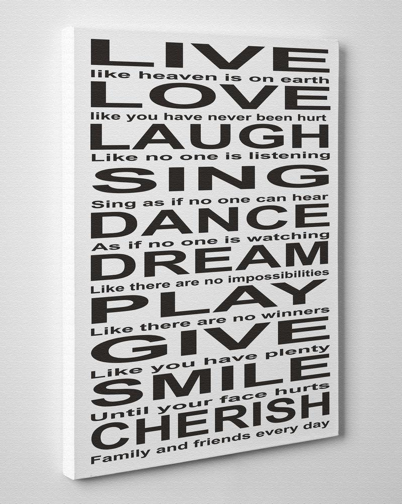 100+ [ Quote Canvas Wall Art ] | Canvas Quote Wall Art Sign What With Nvga Wall Art (Image 1 of 20)