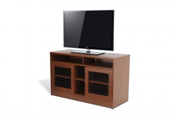 100 Series Small Tv Cabinet In Cherry, Unique Office Furniture For Most Current Small Tv Cabinets (View 9 of 20)