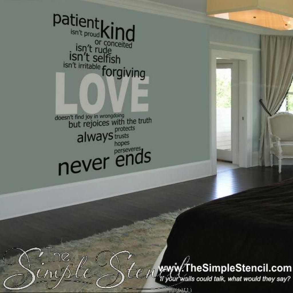 1000+ Ideas About 1St Corinthians 13 On Pinterest | 1 Corinthians Regarding Love Is Patient Love Is Kind Wall Art (Image 3 of 20)