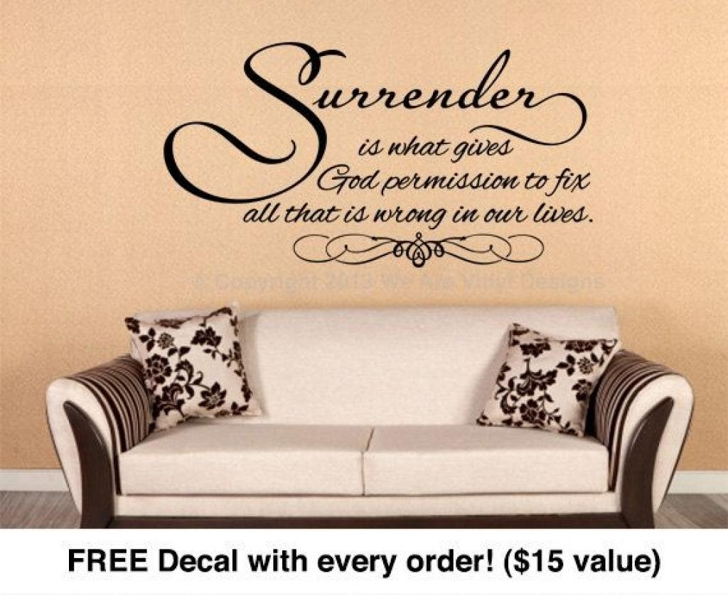 1000+ Ideas About Christian Wall Art On Pinterest | Wall Art Pertaining To Scripture Vinyl Wall Art (View 9 of 20)
