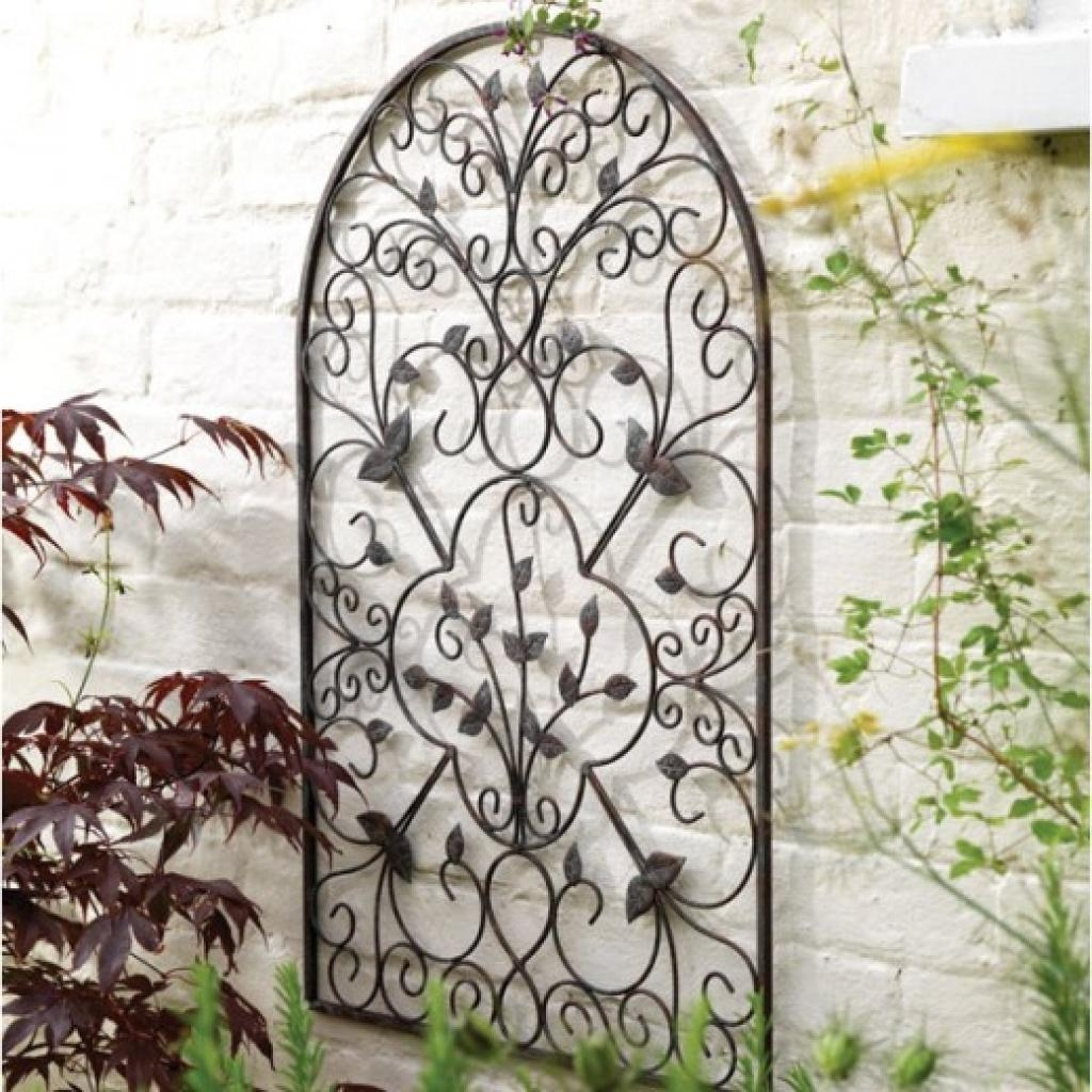 1000+ Images About Outdoor Wall Art On Pinterest | Outdoor Metal With Regard To Outdoor Wrought Iron Wall Art (Image 1 of 20)