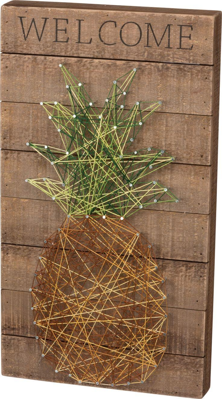 101 Best String Art Images On Pinterest | String Art, Crafts And Pertaining To Box Signs Wall Art (Image 1 of 20)