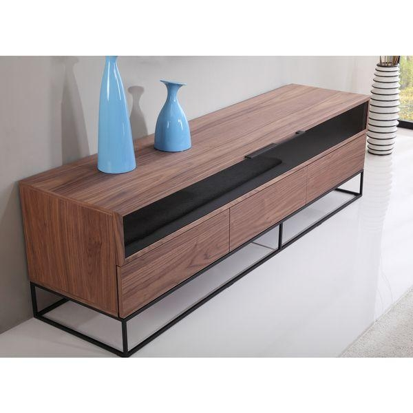 101 Best Tv Stand Images On Pinterest | Tv Stands, Modern Tv within Most Recent Dark Walnut Tv Stands