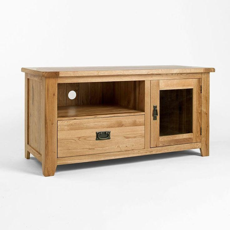 102 Best Tv Cabinets Images On Pinterest | Tv Units, Tv Cabinets With Current Oak Tv Cabinets (Image 1 of 20)