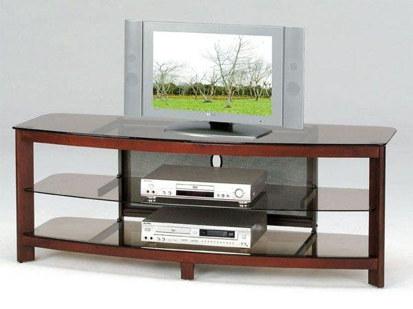 105 Best Tv Stands Images On Pinterest | Tv Consoles, Tv Stands For Most Recently Released Wood Tv Stand With Glass Top (View 2 of 20)