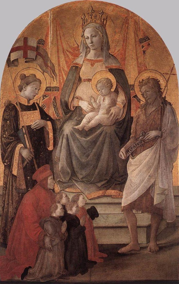 107 Best Fra Filippo Lippi Images On Pinterest | Italian Regarding Italian Renaissance Wall Art (Image 1 of 20)