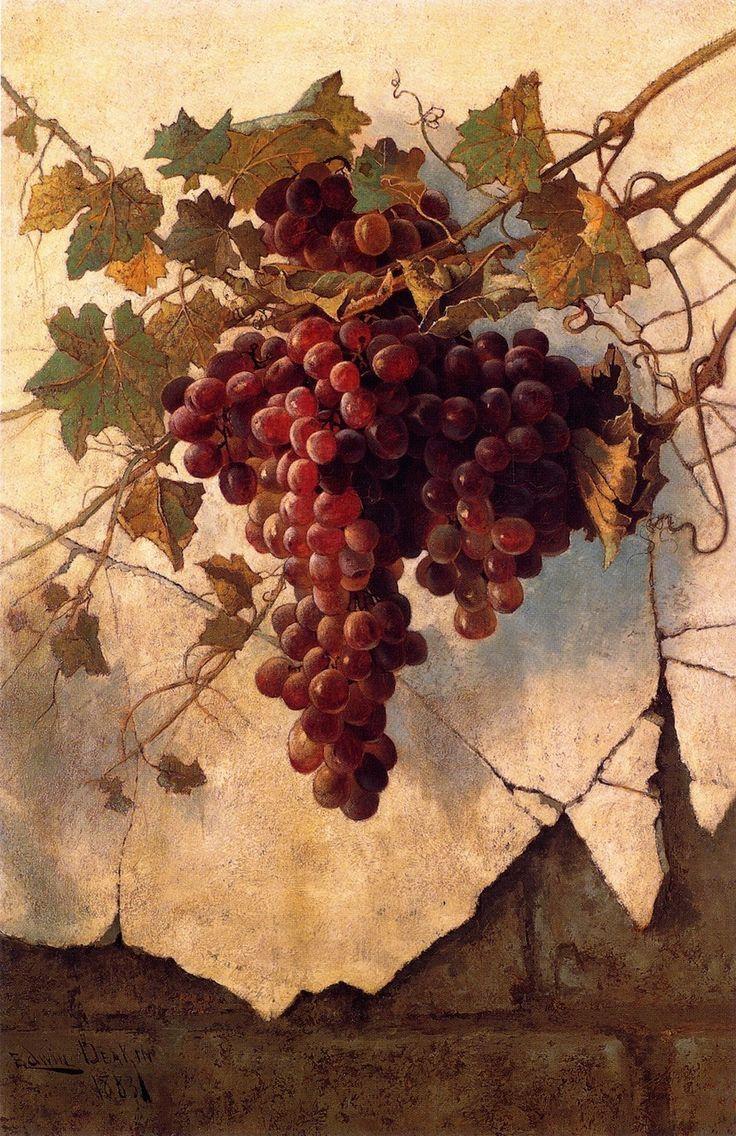 108 Best Grape Photos & Paintings Images On Pinterest | Fruit Regarding Grape Colour Wall Art (View 8 of 20)
