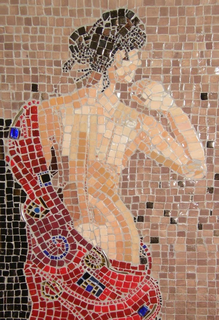 109 Best פסיפס – אנשים Images On Pinterest | Stained Glass, Mosaic Inside Diy Mosaic Wall Art (Image 1 of 20)