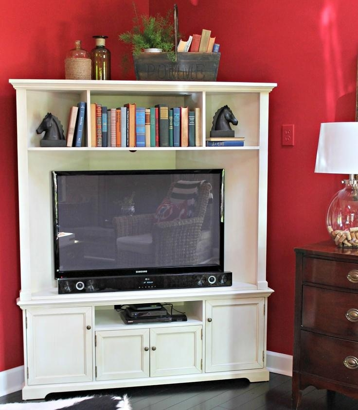 11 Best Corner Tv Images On Pinterest | Corner Tv Stands, Corner Regarding Recent Cheap Corner Tv Stands For Flat Screen (Image 1 of 20)