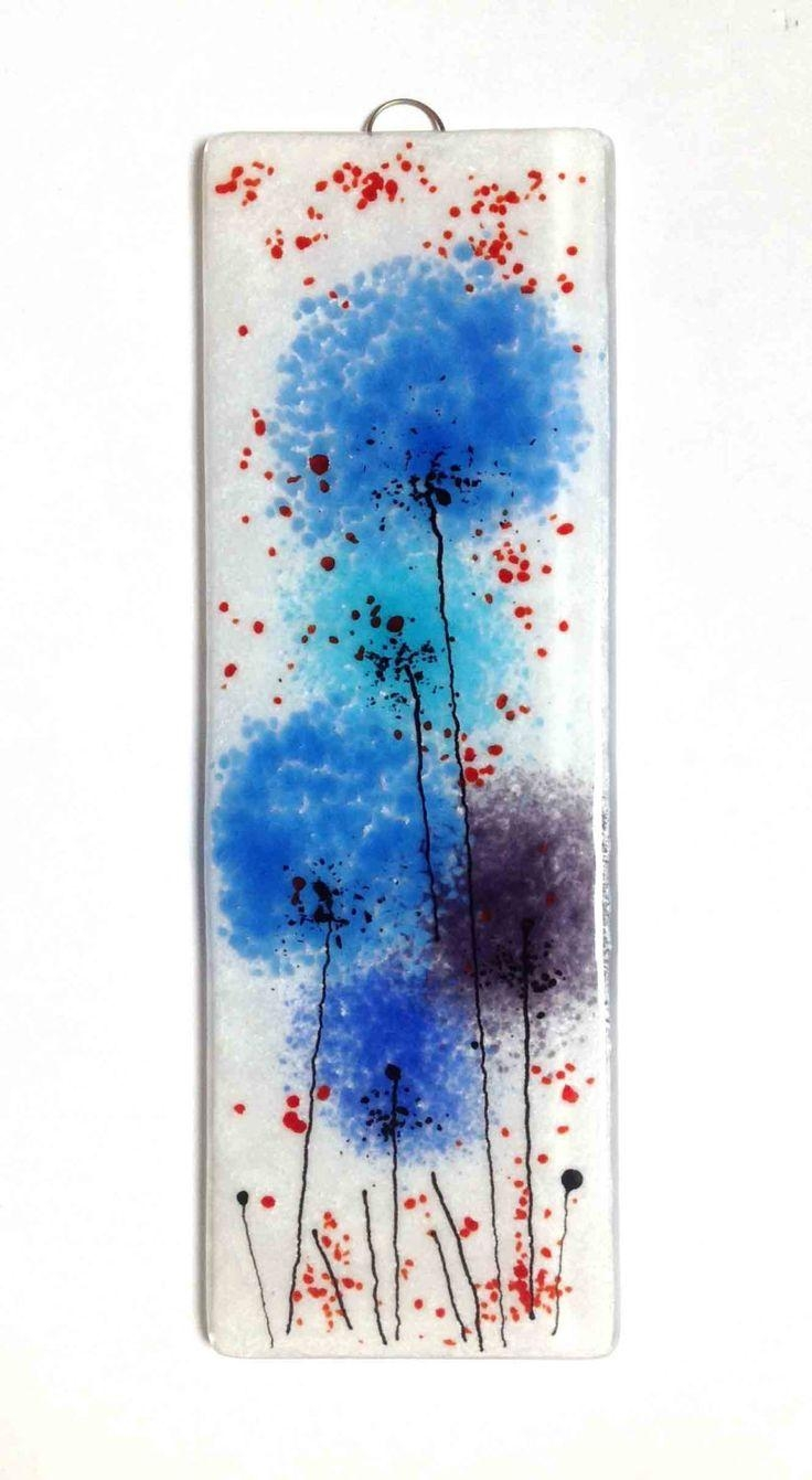 111 Best Fused Glass Wall Art – Panels – Hangings – Candle Screens For Fused Glass Flower Wall Art (View 3 of 20)
