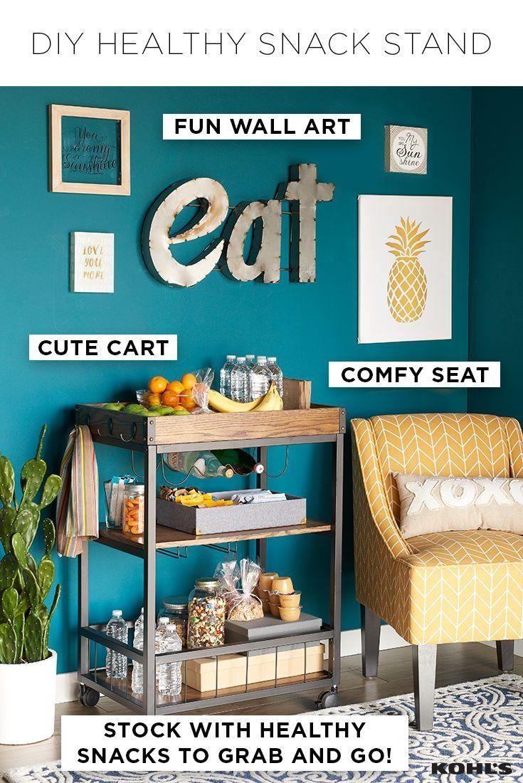 1164 Best Home Style Images On Pinterest | Acacia Wood, Bar Carts Throughout Box Signs Wall Art (Image 2 of 20)