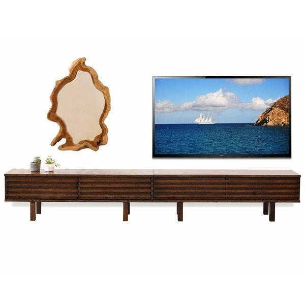 12 Best Media Cabinets Images On Pinterest | Tv Stands, Media Inside Latest Low Long Tv Stands (View 12 of 20)