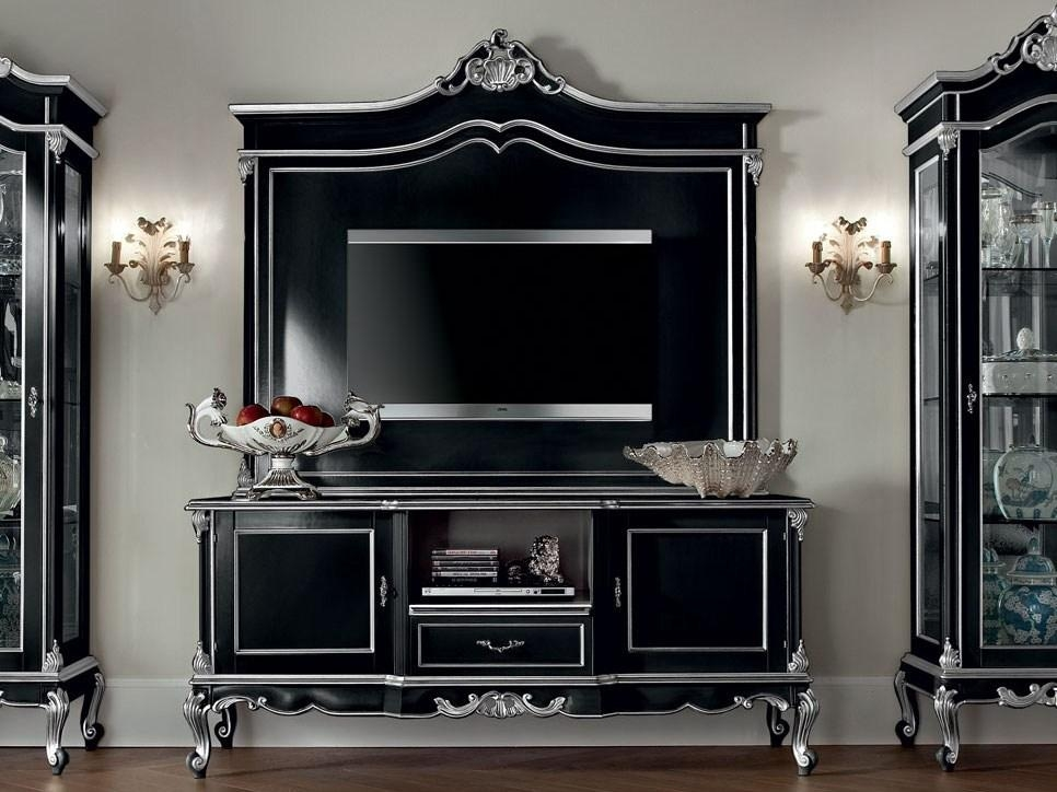 12110 | Tv Cabinetmodenese Gastone In Most Current Classic Tv Cabinets (View 9 of 20)